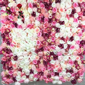 SPR Free Shipping-10pcs lot 3D high quality Artificial wedding flower wall background arrangement flowers decorations