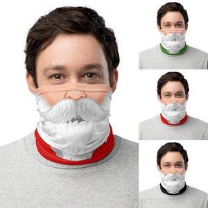 A-Chirstmas Shield Bandana Face Outdoor Sports Magic Headscarf Headband Visor Neck Gaiter Christmas Decoration Gifts party mask GWE1694