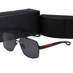 2021 Frauen Retro Polarisierte Luxurys Herren Designer Sonnenbrille Randlose Gold Überzogene Quadratische Rahmen Marken Sonnenbrille Mode Eyewear mit Box