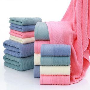 Toalha 2021 100% algodão conjunto de banheiro sólido para adultos face toalhas de mão Terry washcloth esporte de viagem