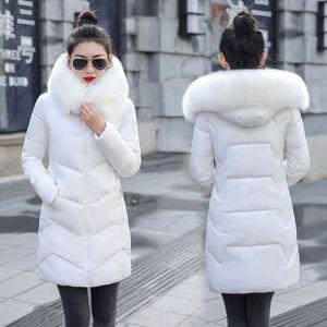 New Parka Womens Winter Coats Womans Plus size 7XL Long Cotton Casual Fur Hooded Jackets Warm Parkas Female Overcoat Coat Y201012