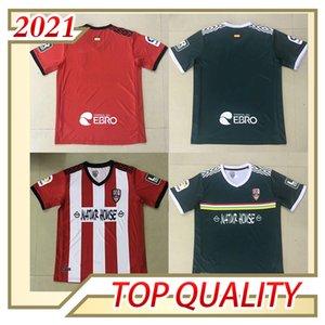 20 21 Ud Logroñés Futebol Jerseys Andy Inaki Zelu Vitória 2020 2021 Logrones Camisetas de Fútbol Fãs Versão Camisa de Futebol
