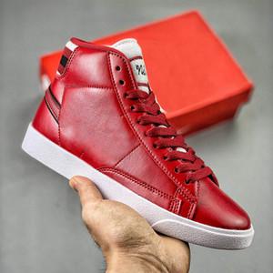 Mens Plataforma Sapatos Mulheres Blazer Meados Camurça Do Vintage Designer Sneakers Couro De Alta Qualidade Moda Na Moda Casual Sapatos