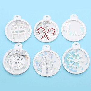 KSCRAFT Christmas Ornament Tags Metal Cutting Dies Stencils for DIY Scrapbooking Decorative Embossing DIY Paper Card Q1117