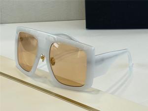 Fashion Oversize White Sunglasses des lunettes de soleil Women Design Sunglasses Shades with Box