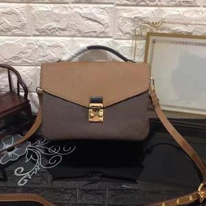 2020 Women's Genuine Leather handbag High quality Postman bag canvas handbag design Shoulder bag