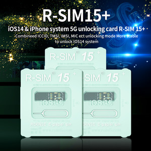 RSIM15 für iOS14 Unlock Card RSIM15 + R-SIM15 RSIM 15+ Doppel-CPU-Upgrade Universal Unlocking für iPhone 11 xs max XR x 6 7 8 plus iOS7-14.x