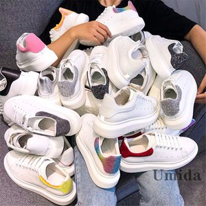 Umida Marque Chaussures Femme Cuir Véritable Sports Sports Chaussures de sport Haute Qualité Chaussures décontractées Mode Sneakfas pour femme Plus Taille 34-42 Coffret cadeau