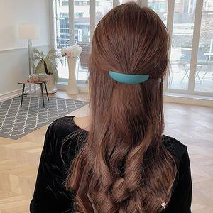 korean Sweets hair clips for women hair accessories 2020 solid headbands for women designer opaski dla dziewczynek