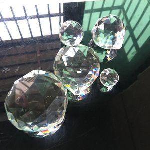 50mm feng shui pendurado esfera de cristal prism arco-íris suncatcher pingente diy 50mm feng preço acessível h bbyadi