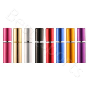 5 мл парфюмерные флакон алюминиевые анодированные компактные парфюмерные распылитель амортизатор из ароматизатора стекла аромата туризма погребенное макияж распылитель CYZ2967