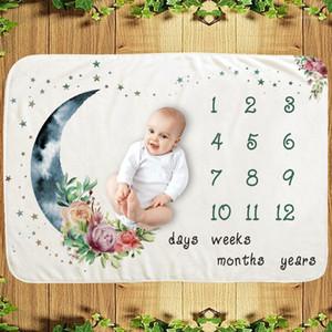 New Milestone Blanket Baby photo Blanket Baby milestone Moon1