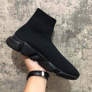 Cheap Platform Speed Trainer Mens Womens Sock Shoes Black White Red Men Women Top Quality Fashion Sneakers Casual Shoes sa3
