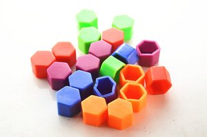 19mm 20pcs Silica Gel Green Wheel Nuts Covers Protective Bolt Caps Hub Screw Protector Wheel Nut Bolt Head Cover Cap Car Styling