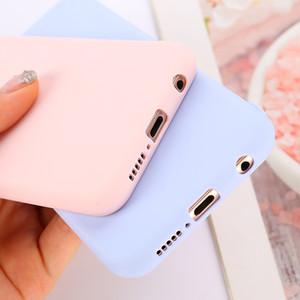 Candy Color Soft Silicone Case Case for Huawei Mate 30 20 10 Lite Pro Y5 Y5 Y7 Y7 Y7 Y9 Pro Prime 2019 2018 Funda Coque