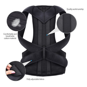 Back Waist Posture Corrector Adjustable Adult Correction Belt Waist Trainer Shoulder Lumbar Brace Spine Support Belt Vest