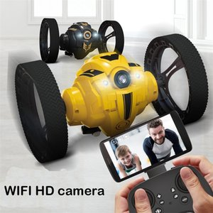 RC ترتد سيارة HD كاميرا wifi fpv الصمام المصباح عالية السرعة فيديو عالية السرعة التحكم عن القفز المزحة حيلة لعبة الذكية المتسابق كيد 201211