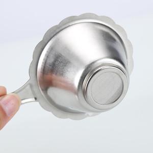 Double Layer Tea Strainer Filter Fine Mesh Tea Spoon Filter Stainless Steel Double Layer Tea Comfortable New Arrival Coupons Online H jllhZV