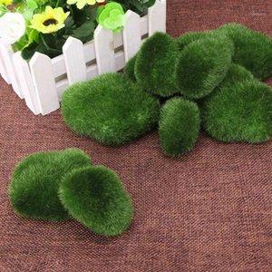 8 / 10x artificiel vert faux faux micro paysage mousse pierre extérieure yard décor1