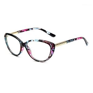 جديد أزياء القط العين القراءة نظارات للنساء الضوء الأزرق حظر نظارات الشيخوخة النظارات 1