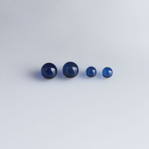 4mm 6mm 8mm 10mm Ruby And sapphire Terp Pearls Insert Suitable for Beveled Edge Quartz Banger Nails Glass Bongs Dab Rigs