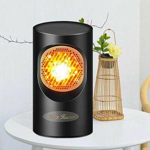 MINI Portable Fast Fan Heater Air Warmer Fan Heated Heating Electric Fan Cooling Winter 400W for Home Office Y1207