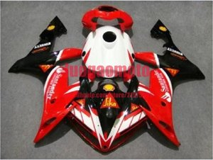 Bodywork+tank for white red black Yamaha YZFR1 YZF R1 2004 2005 2006 Fairings ABS cowlings Injection motorcycle YZF1000 04 05 06 body kits