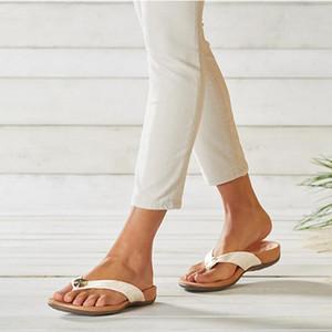 Gaoke 2021 Plataforma de verano Flip Flops moda zapatos de playa mujer antideslizante sandalias mujer zapatillas zapato