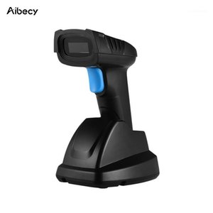 Aibecy Hand 2.4G Wireless 1D&2D Barcode Scanner Bar Code Reader with USB Cradle Receiver 100m Transmission Distance for Store1