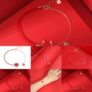1no Drop Shipping Fit Bangle Bracelets designer bralet Popcorn Charm Birthday for pandora Women Girl Christmas