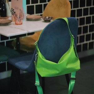 Vintage Women Nylon Handbags Fashion Design Ladies PU Chest Large Capacity Female Hobos Shoulder Bags Tote Messenger Bag Q1129
