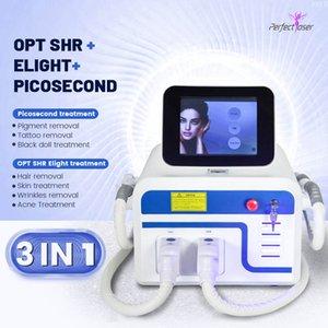 최고의 OPT SHR IPL Elight Laser Tatoo Removal Picosecond Laser 3 1 3000W 무료 배송