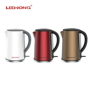 Electric Kettles LEEWONG Kettle Stainless Steel Teapot With 1500W Fast Boiling Kitchen Large Capacity 1.8L1