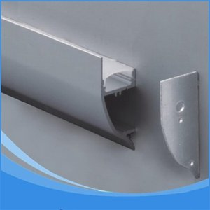 10PCS-1m length of Aluminum LED Profile-Item No.LA-LP43 wall mounting LED Profile suitable for LED strips up to 12mm width Q1121