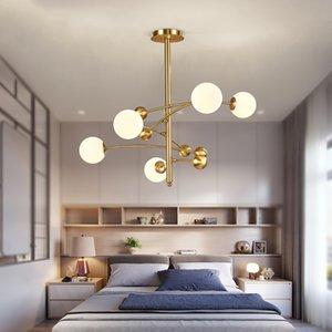 Postmodern Minimalist Magic Bean Chandelier Restaurant Pendant Lamps Designer Model Room Bedroom Living Room Lighting Luminaire