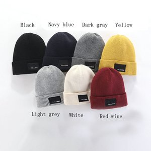 2020 Fashion Beanies TN Brand Men Autumn Winter Hats Sport Knit Hat Thicken Warm Casual Outdoor Hat Cap Double Sided Beanie Skull Caps