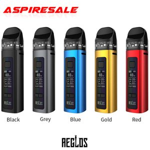 Authentic Uwell Aeglos Pod System Kit 60W Mod Vape 1500mAh Battery 3.5ml Pod Cartridge 0.96 Inch OLED Screen For DTL MTL
