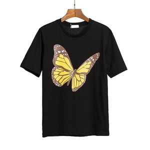 21SS ANGELS Beauty tide PALM printing ANGELS PA loose casual round neck short sleeve T-shirt men and women Fashion printing Tshirt 012606