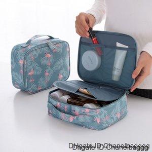 New Designer Women Comestic 19200 PU Leather Makeup Beauty Waterproof Wash Zipper Pattern Portable Travel Bag Cases