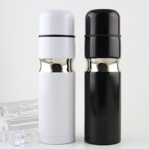C Classic Logo Vacuum Cup Thermoses 304 Stainless Steel Car Bottle Lipstick Coffee Cup Travel Vacuum Flask