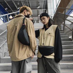 Талия Сумки мужская сумка хмель ремень мужчина большая емкость грудь женщины плечо мессенджер бедро женский кровавоватый