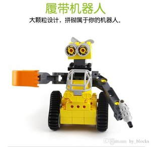 02 Robot Wall-e Assemblé Track Track Voiture Grand Véhicule Jouet Jouet Enfants Bricks Cadeaux Garçons Educatif pour Pistolet BCHGC
