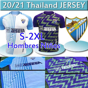 20 21 Malaga maglie di calcio Málaga 2.020 2.021 K. Bare Jersey Juanpi ADRIAN Football Shirt Juankar camiseta T-shirt de fútbol CF Juande MENS
