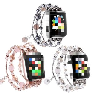 Watch Band Woman Jewellery Wrist Bracelet for Apple Iwatch Series 1 2 3 4 5 Fashion Weave watch strap for 38mm 40mm 42mm 44mm