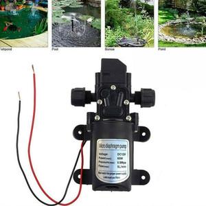 12V 60W Automatic Micro Diaphragm Pump Mini Electric Car Washing Pump High Pressure Water Automatic Switch
