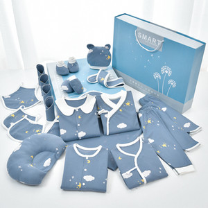 Newborn Gift Box Set Pure Cotton Baby Clothes in the Spring and Autumn Newborn Baby All Products
