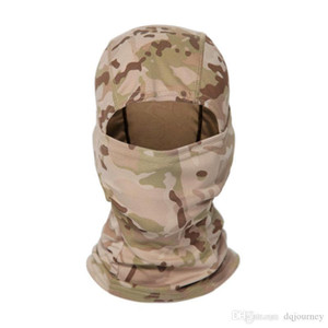 Outdoor Tactical Camouflage Balaclava Full Face CS Wargame Cycling Hunting Bike Windproof Helmet Liner Army CP Scarf Mas 3 NBNG9