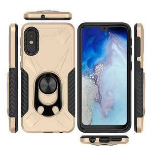 Shockproof Admiral Ring Phone Case For Motorola Moto Play Power For Samsung Galaxy Metal Mobile Case