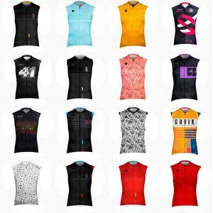 Gobik Team Cycling Sans Sans Jersey Veste Vest Pro Bike Ropa Ciclismo Fashion Mens Hommes Bicyclettes Tops MTB Vêtements Vêtements Confortable Sport de plein air 101607