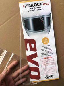 Очистить анти-туманный патч-мотоцикл полноценный шлем для шлема для Shoei X14 Z7 Anti-Fog Visor1